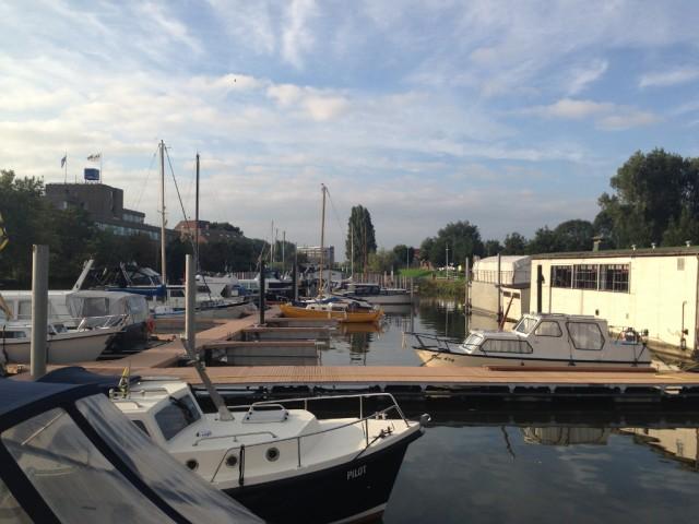 Passanten ligplaatsen WSV De Nieuwe Waterweg